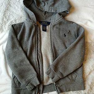 Hoodie Polo sweater